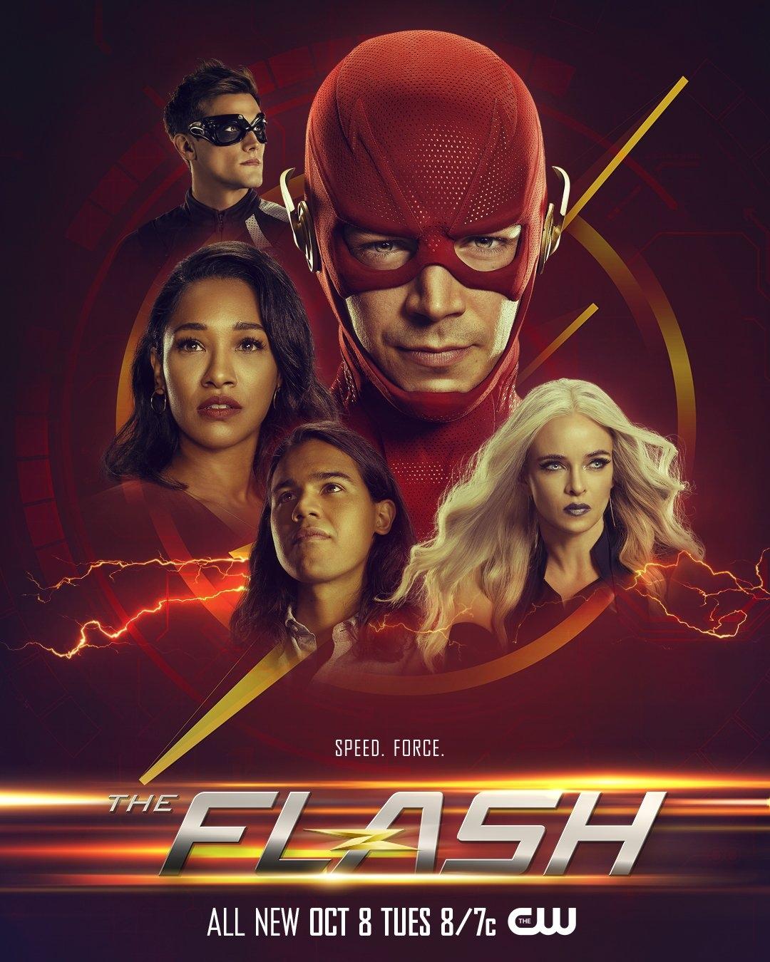 The Flash Season 6 Poster ⚡️