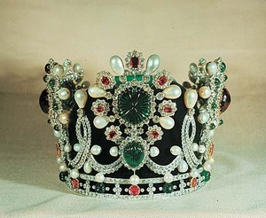 The Imperial Crown of the Last Empress of Iran