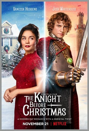 The Knight Before natal (2019) Poster