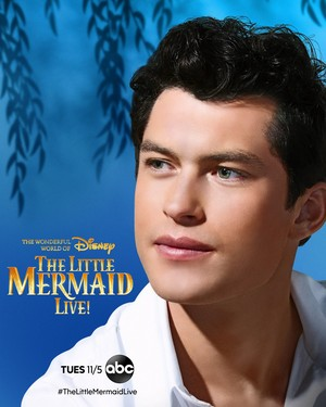 The Little Mermaid Live! (2019) Character Poster - Graham Phillips as Prince Eric