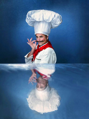 The Little Mermaid Live! (2019) Portrait - John Stamos as Chef Louis