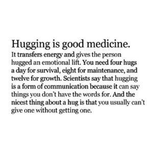 The Medicine Of Hugging
