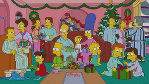 "The Simpsons ~ 25x08 ""White Christmas Blues"""