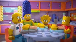 "The Simpsons ~ 25x20 ""Brick Like Me"""