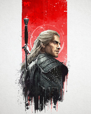 The Witcher - Created by Mayank Kumarr