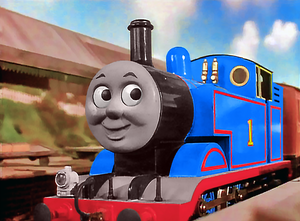 Thomas and Percy fell in the coal