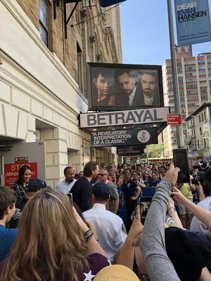 Tom Hiddleston, Charlie Cox and Zawe Ashton at the Broadway Flea Market - September 22, 2019