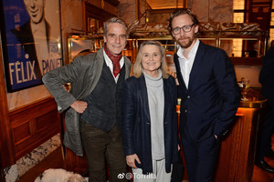 Tom Hiddleston, Jeremy Irons, Sinead Cusack, Lady Antonia Fraser and Indira Varma