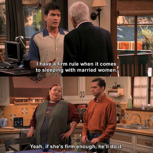 Two and a Half Men Zitate