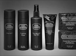 Vidal Sassoon Haircare Line