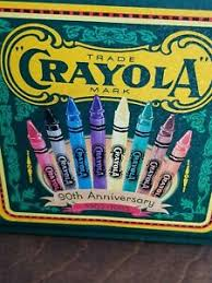Vintage 90th Anniversary Crayola Tin