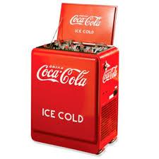 Vintage Coca Cola resfriador, refrigerador
