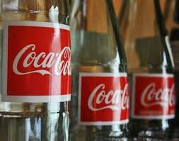 Vintage Coca Cola Soda Bottles