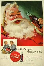Vintage Holiday Coca Cola Promo Ad