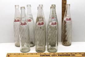 Vintage Pepsi Soda Bottles