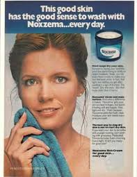Vintage Promo Ad For Noxema Medicated Skin Cream