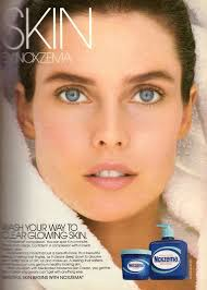 Vintage Promo Ad For Noxema Skincare Line