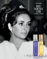 Vintage Promo Ad For White Diamonds Lustre