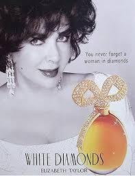 Vintage Promo Ad White Diamonds