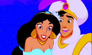 Walt Disney Screencaps – Princess Jasmine & Prince Aladdin