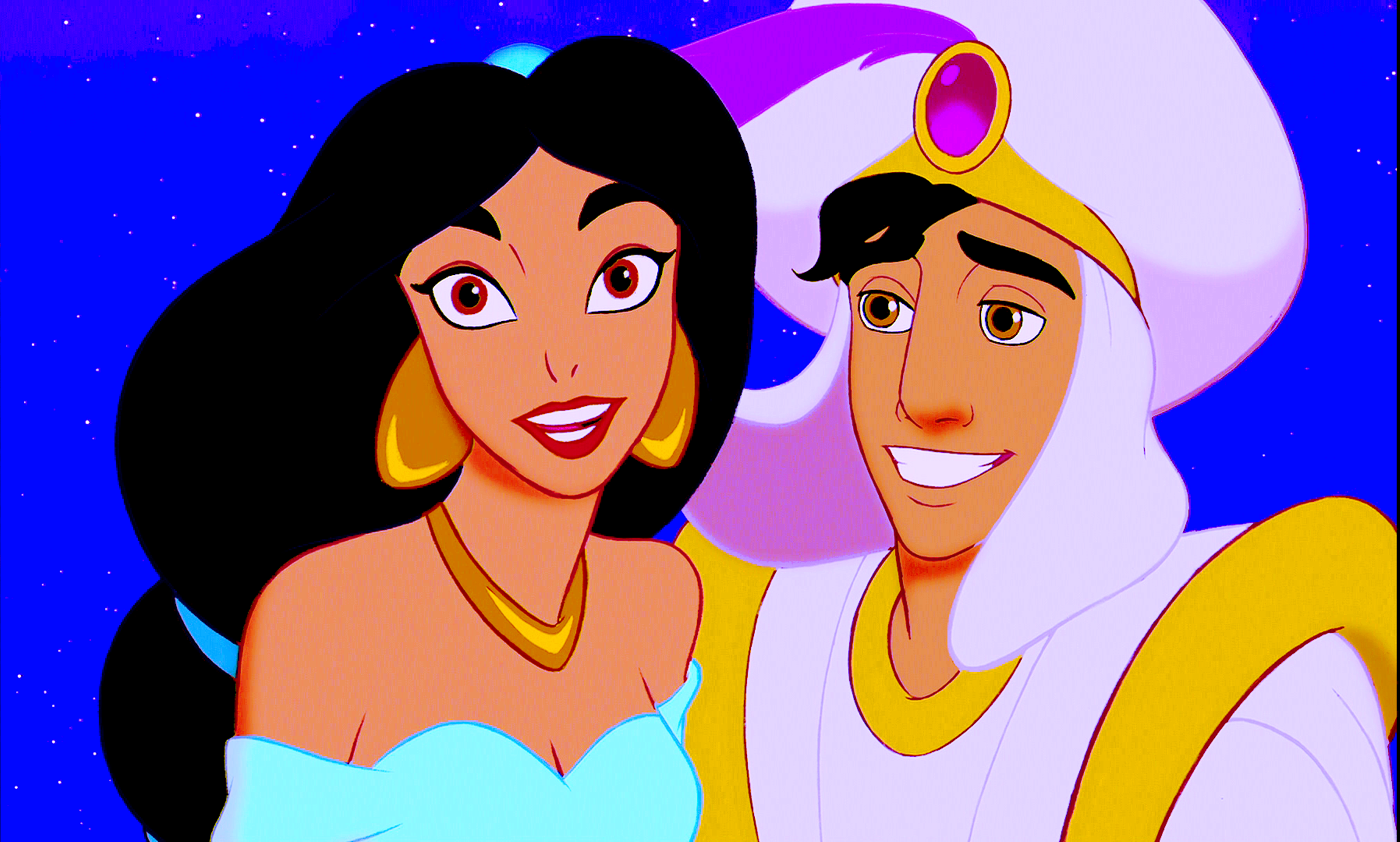 Walt Disney Screencaps – Princess jimmy, hunitumia & Prince Aladin