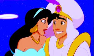 Walt disney Screencaps – Princess jazmín & Prince aladdín