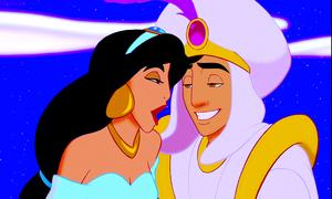 Walt Disney Screencaps – Princess melati, jasmine & Prince Aladdin