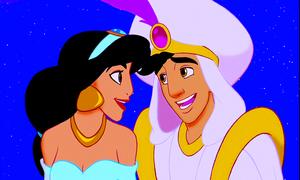 Walt 디즈니 Screencaps – Princess 재스민 속, 재 스민 & Prince 알라딘