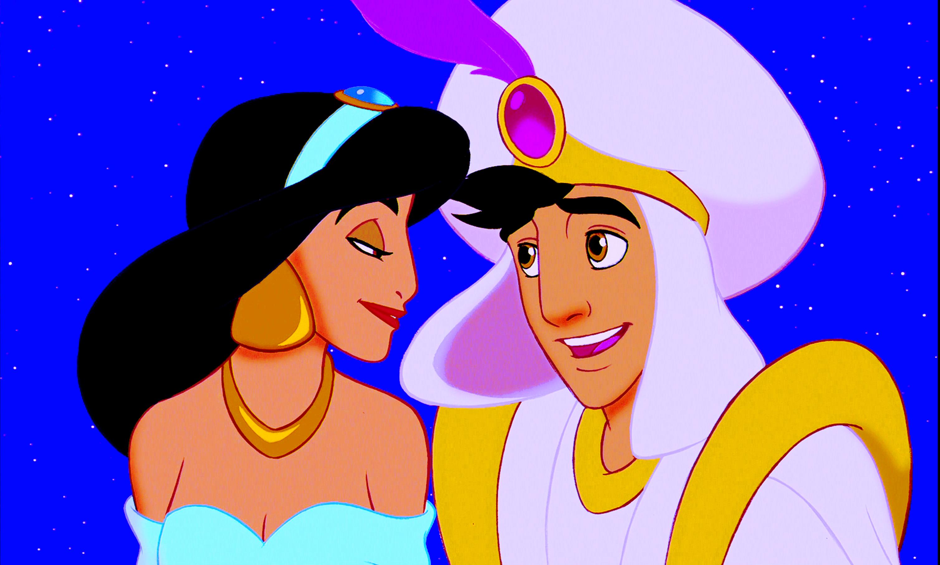 Walt Disney Screencaps – Princess Jasmine & Prince Aladdin