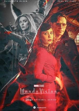 WandaVision -Disney+ poster