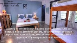 Where to stay Espiritu Santo Vanuatu
