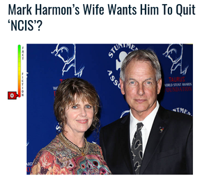 Wife want Mark Harmon to quit NCIS
