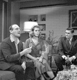 William Asher with Liz and Dick York