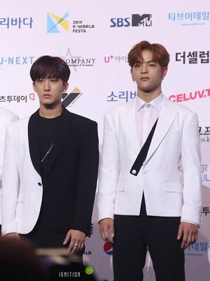 Woojin and Chanbing