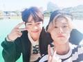 Woojin and Han - stray-kids%F0%9F%8C%BA photo