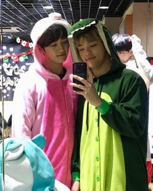 Woojin and Minho