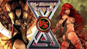 Xena Warrior Princess vs. Red Sonja