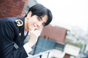 """Younghoon """"Right Here"""" promotion photoshoot by Naver x Dispatch"""