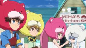 Riku, Yukki, Momo, And Sarah,