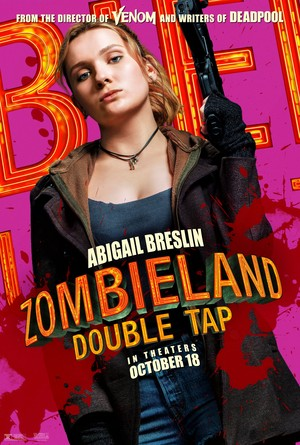 Zombieland: Double Tap (2019) Character Poster - Abigail Breslin as Little Rock
