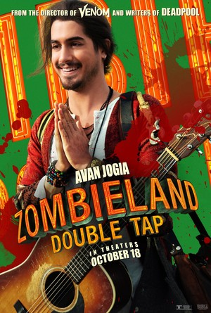 Zombieland: Double Tap (2019) Character Poster - Avan Jogia as Berkeley