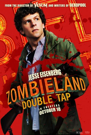 Zombieland: Double Tap (2019) Character Poster - Jesse Eisenberg as Columbus