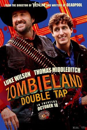 Zombieland: Double Tap (2019) Poster - Luke Wilson as Albuquerque & Thomas Middleditch as Flagstaff