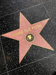 Winnie The Pooh étoile, star Walk Of Fame