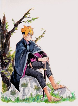 teen boruto drawing