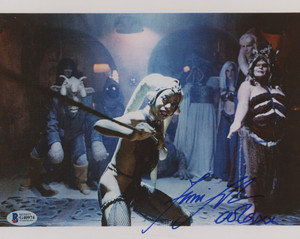 main 1556747051 Femi Taylor Signed 별, 스타 Wars 8x10 사진 Inscribed Oola XX Beckett COA PristineAuctio