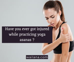 safety guidelines for Yoga asanas