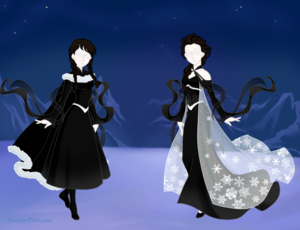 slender anna and slender elsa