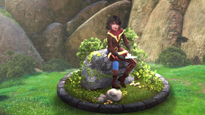 Cassandra (Tangled: The Series) in CGI form