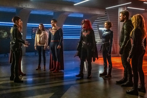 """Crisis on Infinite Earths"" crossover promotional stills"